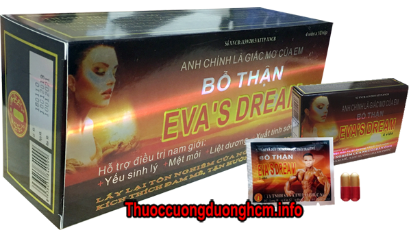 Mua viên uống bổ thận đông y cường dương Eva's Dream ở đâu tphcm